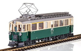 LGB ABe 4/4 Pwrd Rail Car RhB - G-Scale