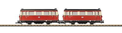 LGB DR cl VT 133 Railcar Set - G-Scale