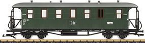 LGB DR 2-Car German State Railroad DRG Wood Passenger Set G Scale Model Train Passenger Set #31352