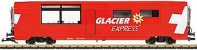 LGB Glacier Express Diner Rhaetian Railroad RhB G Scale Model Train Passenger Car #33667