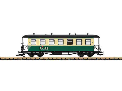 LGB Ru BB Passenger Car -- G Scale Model Train Passenger Car -- #35357