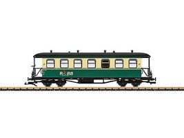 LGB Ru BB Passenger Car G Scale Model Train Passenger Car #35357