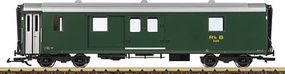LGB Baggage Car Rhaetian Railroad RhB #D 4214 G Scale Model Train Passenger Car #35690