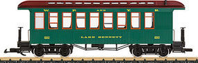 LGB White Pass Passenger Car G Scale Model Train Passenger Car #36807