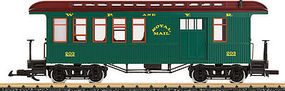 LGB White Pass Combine Car G Scale Model Train Passenger Car #36816