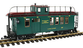 LGB Drovers Caboose Wht Pass - G-Scale
