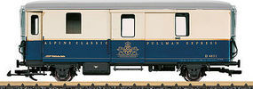 LGB Pullman Exp Baggage Car - G-Scale