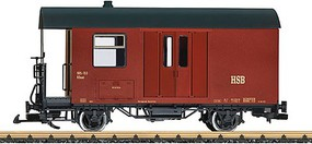LGB Baggage Car Era VI HSB - G-Scale