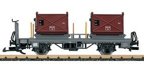 LGB Container Flat 2-Car RhB - G-Scale