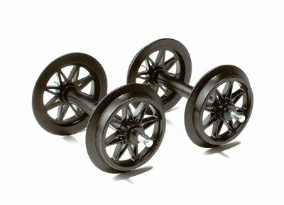 LGB Dbl Spoked Wheel Set 2/ - G-Scale (2)