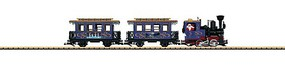 LGB Christmas Starter Set Christmas Express (blue, gold, English Lettering) - G-Scale
