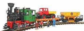 LGB Work Train Start Set 120V G-Scale