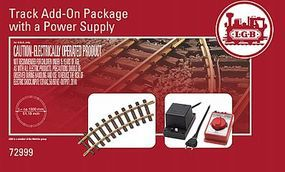 LGB Add-On Track & Power Supply Set G Scale Model Train Track Accessory #72999