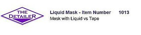 Long The Detailer Liquid Mask 1oz. Bottle