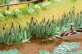 Life-Like Cattails SceneMaster Botanicals Kit Model Train Accessory HO Scale #1066