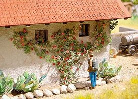 Life-Like Climbing Roses SceneMaster Botanicals Kit Model Railroad Grass Earth HO Scale #1076