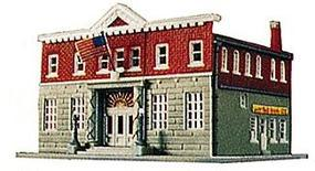 Life-Like 5th Precinct Police Station Kit Model Railroad Building N Scale #7481