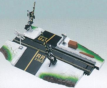Life-Like Dual crossing gate - HO-Scale