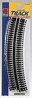 Life-Like Code 100 Curved Steel Track 18 Radius Model Train Track N Scale #8602