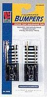 Life-Like Code 100 Lighted Bumpers Steel Model Train Track HO Scale #8628