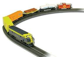 Life-Like Rolling Rails Diesel Freight Model Train Set HO Scale #8693