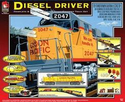 Life-Like Diesel Driver Union Pacific Model Train Set HO Scale #8852