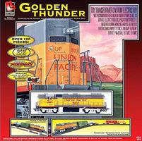 Life-Like Golden Thunder Model Train Set HO Scale #8853