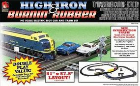Life-Like High Iron & Burnin Rubber - HO-Scale