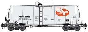 Life-Like-Proto 16K-Gal Tank AMMX 14020 HO Scale Model Train Freight Car #100131