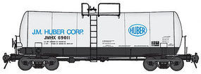 Life-Like-Proto 16K-Gal Tank JMHX 69011 HO Scale Model Train Freight Car #100133