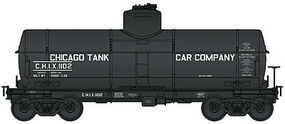 Life-Like-Proto Type 21 ACF 8,000-Gallon Chicago Tank Car Co #1102 HO Scale Model Train Fregiht Car #100331