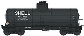 Life-Like-Proto Type 21 ACF 8,000-Gallon Tank Car Shell RPX #2382 HO Scale Model Train Fregiht Car #100336
