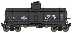 Life-Like-Proto Type 21 ACF 10,000-Gallon Tank Car Keith Tank Lines KTX #791 HO Scale #100521