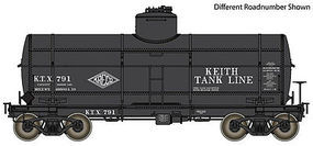 Life-Like-Proto Type 21 ACF 10,000 Gallon Tank Car Keith Tank Lines KTX #799 HO Scale #100522