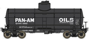 Life-Like-Proto Type 21 ACF 10,000 Gallon Tank Car Pan-Am Oils SHPX #10812 HO Scale #100523