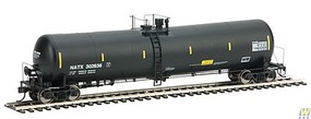 Life-Like-Proto 55 Trinity 30,145-Gallon Tank Car - Ready to Run NATX #302636 (black, yellow Conspicuity Marks)