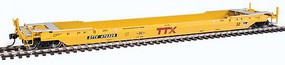 Gunderson 53' Rebuilt All-Purpose Well Car - Ready to Run TTX DTTX 470328 (Small Railbox Logo)