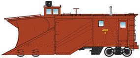 Life-Like-Proto Russell Snowplow - Ready to Run - Alaska Railroad #4 HO Scale Model Train Freight Car #110013