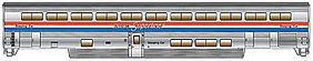 Life-Like-Proto 85 Pullman-Standard Superliner I Sleeper Amtrak Phase III HO Scale #11021