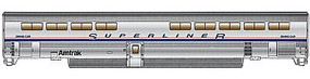 Life-Like-Proto 85 Bombardier Superliner II Diner Amtrak Phase IV HO Scale #11080