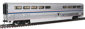 Life-Like-Proto 85 Superliner I Diner - Lighted Amtrak Phase IVb HO Scale Model Train Passenger Car #12033