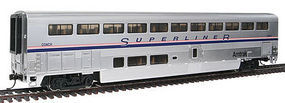 Life-Like-Proto 85 Bombardier Superliner II Coach Amtrak Phase IV HO Scale Model Train Passenger Car #12060