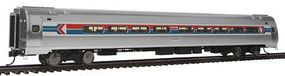 Life-Like-Proto 85 Amfleet I 84-Seat Coach Amtrak Phase I 2 Arrows HO Scale Model Train Passenger Car #12205