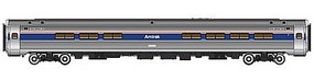 Life-Like-Proto 85 Amfleet I Amcafe Lighted Amtrak Phase IV HO Scale Model Train Passenger Car #12248