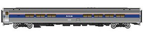 Life-Like-Proto 85 Amfleet II Lounge Lighted Amtrak Phase IV HO Scale Model Train Passenger Car #12265