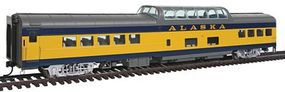 Life-Like-Proto 85 ACF Dome Coach Lighted Alaska Railroad HO Scale Model Train Passenger Car #12500