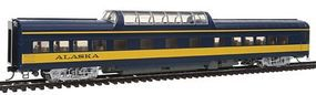 Life-Like-Proto 85 ACF Dome Coach Lighted Alaska Railroad HO Scale Model Train Passenger Car #12501