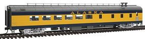 Life-Like-Proto 85 ACF Diner Lighted Alaska Railroad HO Scale Model Train Passenger Car #12550