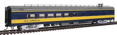 Life-Like PROTO 85' ACF Diner Lighted Alaska Railroad -- HO Scale Model Train Passenger Car -- #12551