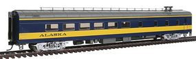 Life-Like-Proto 85 ACF Diner Lighted Alaska Railroad HO Scale Model Train Passenger Car #12551